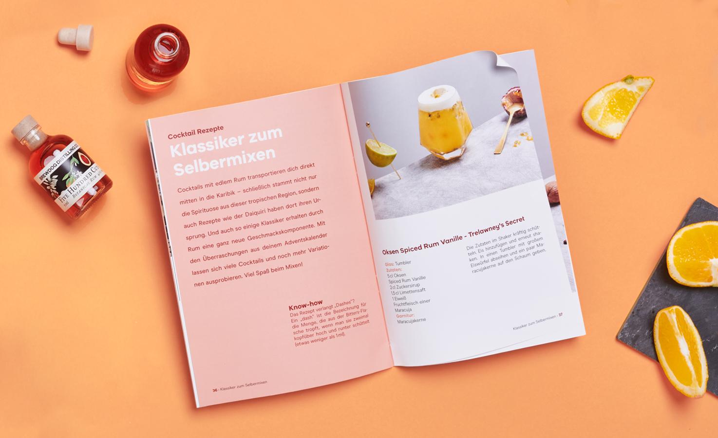 Booklet Rum Adventskalender