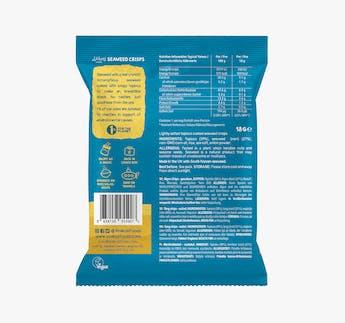 Seetang Chips mit Meersalz